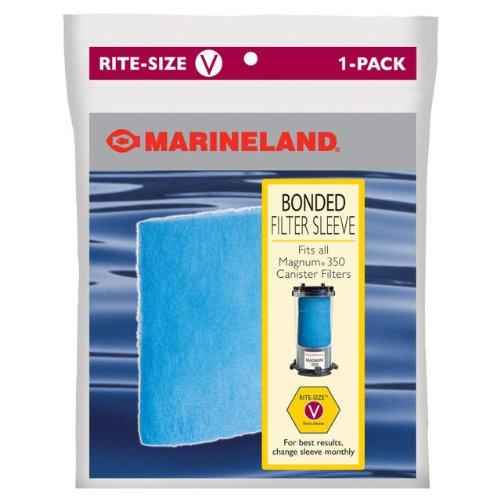 MarineLand PA0114 Bonded Filter Sleeve for Magnum 350 Canister Filter, 1-Count