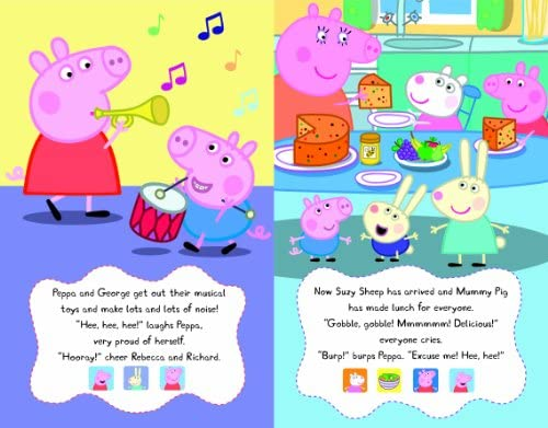 Peppa's Super Noisy Sound Book (Peppa Pig): Ladybird