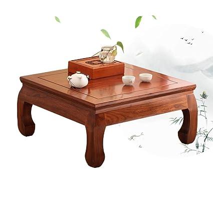 Amazon Com Tables Coffee Bay Window Solid Wood Small Square Coffee