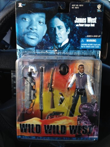 Wild Wild West The Movie Will Smith As James West with Power Escape Hook by 1999 Xtoys, Inc.