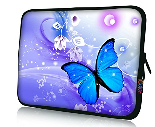 FBAps17-004 NEW Art design Blue butterfly 16
