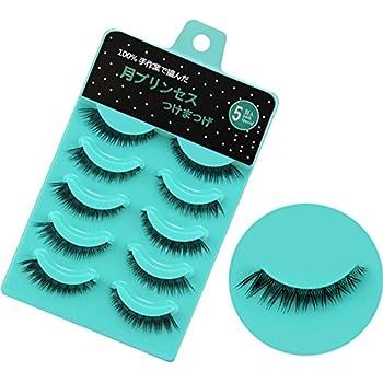 False Eyelashes Collection Here 5 Pairs Women Ladies Nautral Hair Handmade Thick False Eyelashes Long Black Cosmetic Beauty Tools