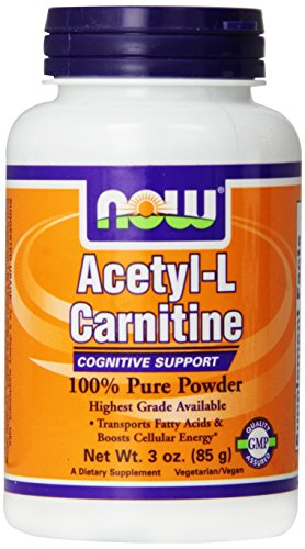 Acetyl L-carnitine Pure Powder (NOW Foods Acetyl L-Carnitine Pure Powder, 3)
