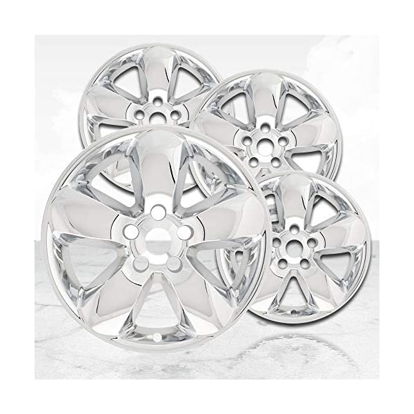 Upgrade-Your-Auto-20-Chrome-Wheel-Skins-Set-of-4-for-2013-2017-Dodge-RAM-1500-2495