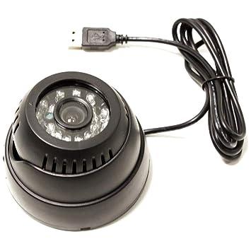 Cablematic - Cámara de vídeo-vigilancia con Memoria Interna y conexión USB y visión con