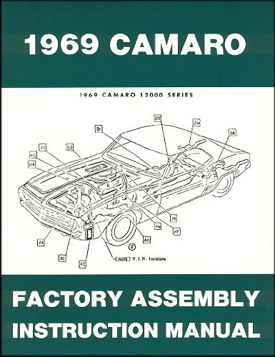 1969 Chevrolet Camaro Factory Assembly Instruction ()