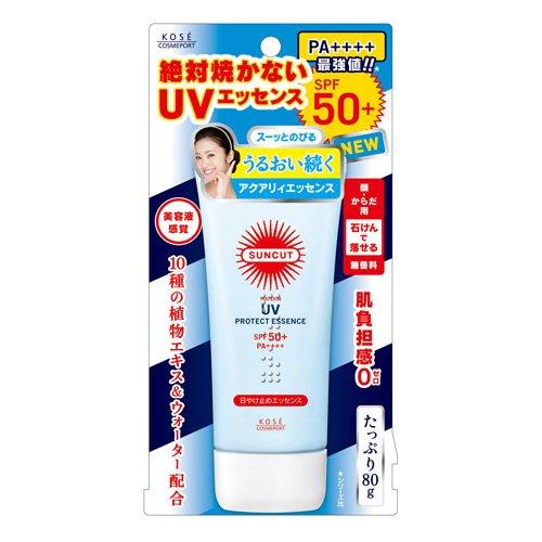 コーセー サンカット 日やけ止めエッセンス 80G×48点セット  SPF50+ PA++++(紫外線UV対策日焼け止め) B00SB681SI