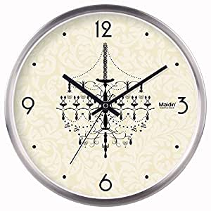 Znzbzt Black And White Wall Clock Personalized Art Living Room Bedroom Office Retro