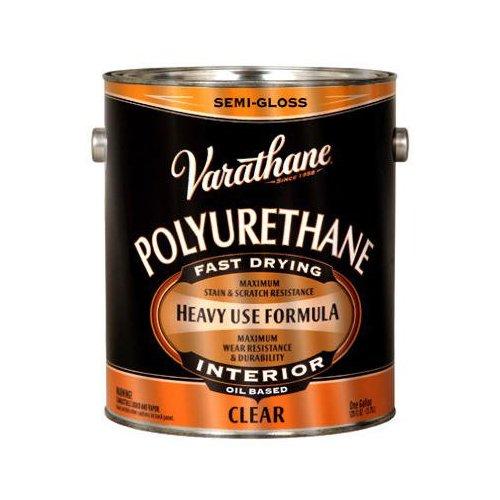 RUST-OLEUM 214551 Varathane Gallon Semi Gloss Oil Base Premium Polyurethane Floor (Varathane Premium Floor)