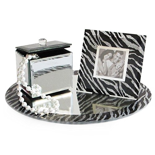 zebra bathroom tray - 9