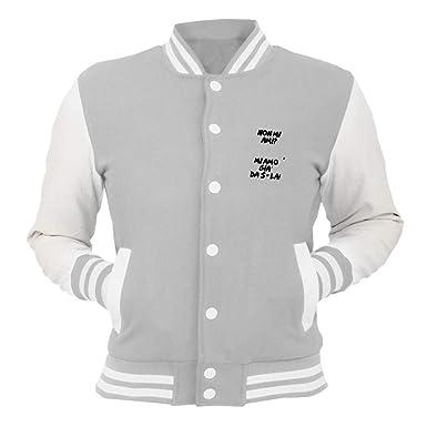 Speed Shirt Chaqueta College Gris TDM00173 Mi Amo Gia da ...