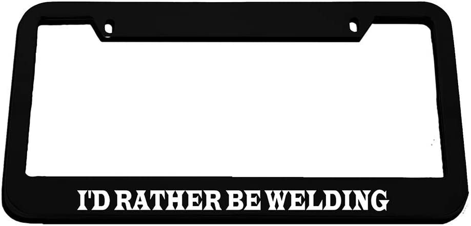 License Plate Frame I/'D Rather Be in Pensacola Zinc Weatherproof Car Accessories