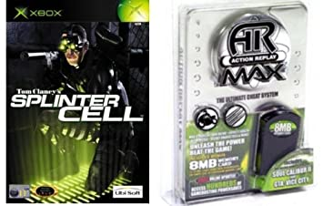 Xbox Softmod Kit (Action Replay, Memory Card & Splinter Cell)