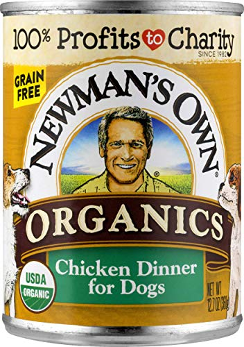 NewmanS Own Organics Chicken Dinner For Dogs, 12.7-Oz (Pack Of 12)
