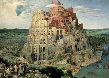 The Tower of Babel 1000 Piece Puzzle by Tomax: Amazon.es: Juguetes y juegos