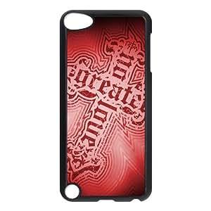 Custom Cross Back Cover Case for ipod Touch 5 JNIPOD5-052