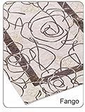 Tappeto Suardi Velour Modello CAMELIA MADE IN ITALY 65X110 centimetri 10 Colori (65X110, fango)