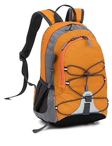 Children Boys Girls Waterproof Sport Backpack Bookbag Travel Rucksack School Bag (orange) from Unknown