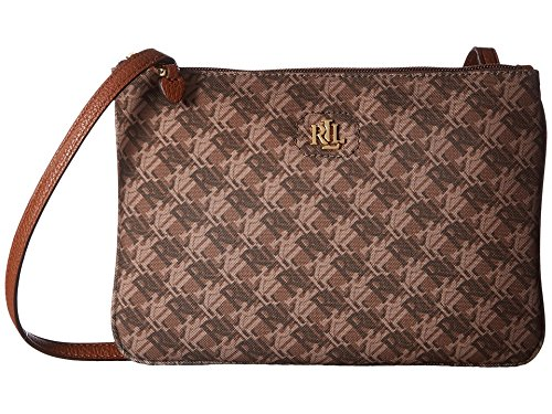 Ralph Crossbody Handbag Tara Brown Logo Bainbridge Lauren Lauren Print Multi dvwCqC