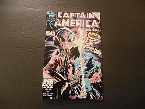 Captain America Annual #8 1986 Copper Age Marvel Comics
