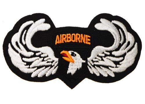 101st Airborne Wings Screaming Eagles Patch D15 by Sujak Military Items ()