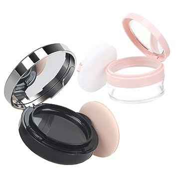 Amazon.com: Contenedor de polvo vacío para cosméticos con ...
