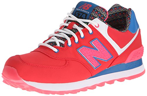 Trainers Rouge Balance Textile Womens Classic New Traditionnels xqfwgP4n7A