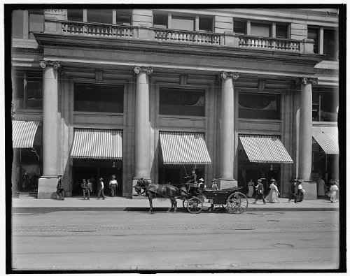Photo: Entrance,Marshall Field & Company,department - Shopping Il Chicago