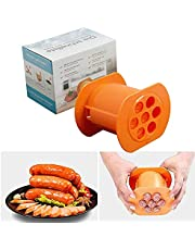 One Press Cevapcici Sausage Maker 7 Sausages in One Press Sausage Mold Maker