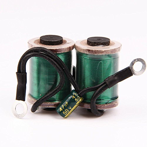 Professional Tattoo Coils 28mm 32mm 10 Wrap Copper Wire for Tattoo Machine Tattoo Parts for Tattooing Gun Shader Liner Green Red 2 Colors Optional (28mm, Green)