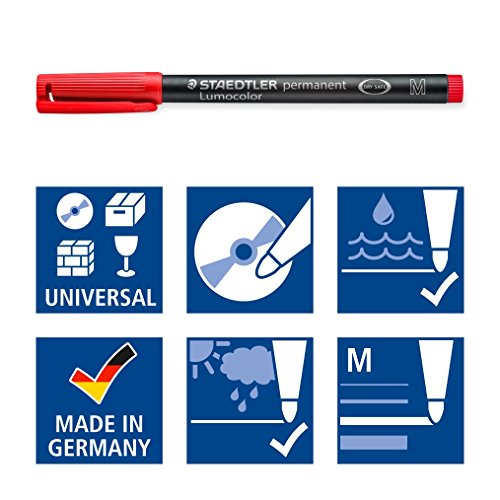 Staedtler Overhead Markers Permanent Marker (317 WP4) Photo #7