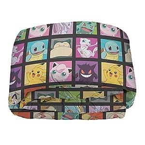 "Pokémon, ""Kanto Favorites"" Twin Bed in a Bag Set, 64″ x 86″, Multi Color"
