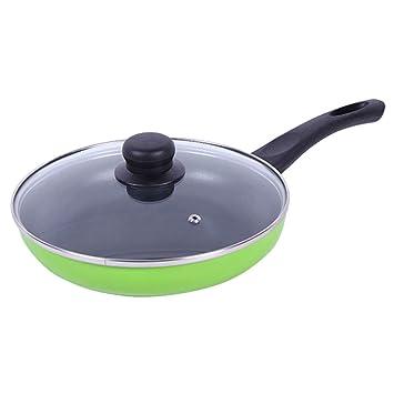 CHENGYI Home Cooking Sartén antiadherente Less Fumes Wok ...