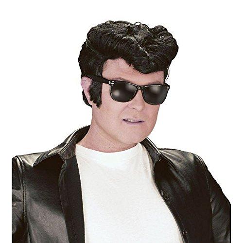 50's Black Men's Greaser Wig