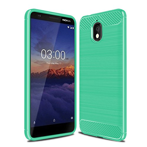 - TOTOOSE Nokia 3 2018 Case, Pouches Pouches Protective Armor Defender Anti-Slip Shock-Proof Scratch Resistant Pouches Bumper Back Case Cover Compatible with Nokia 3 2018 (Green)