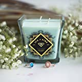 Ice N Fire White Waterfall Ring Candle (Hidden Ring Valued up to $5,000)
