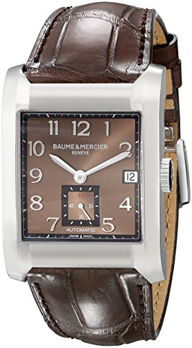 baume-mercier-mens-10028-hampton-mens-brown-leather-strap-automatic-watch