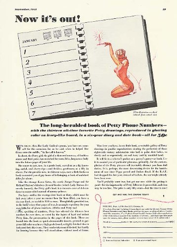 Now it's out! Esquire Date Book ad 1941 George - Esquire It