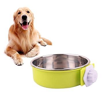 POPETPOP Caja para Perros Recipiente para Agua Recipiente de Acero ...