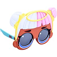 Officially Licensed LOL Surprise Sugar Sun-Staches, Instant Costume Characters Sunglasses, Party Favor Shades UV