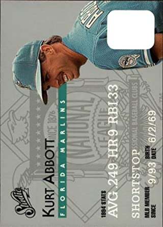 Amazon.com: 1995 Donruss Studio Baseball Card #81 Kurt Abbott Mint: Collectibles & Fine Art