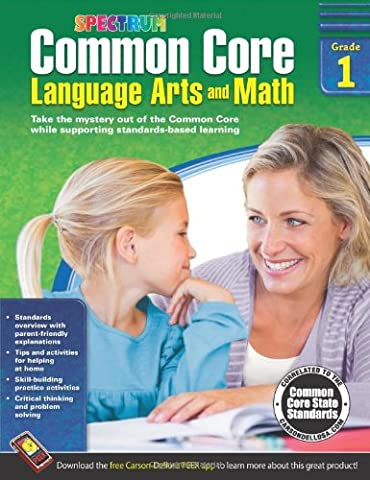 Common Core Language Arts and Math, Grade 1 (Spectrum) - Geometry Common Core