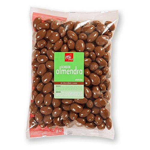 Bombón almendra con chocolate con leche 1 kg: Amazon.es: Alimentación y bebidas