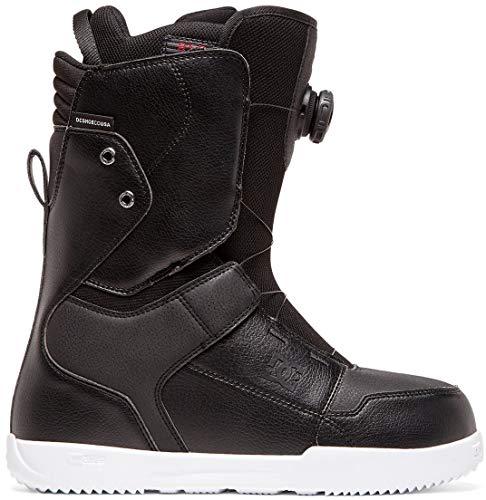 DC Scout BOA Snowboard Boots Mens Sz 11 Black