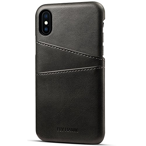 Case-Compatible-iPhone-XS-MAXXSXRX-PU-Leather-Wallet-Phone-Case-with-Card-Holder