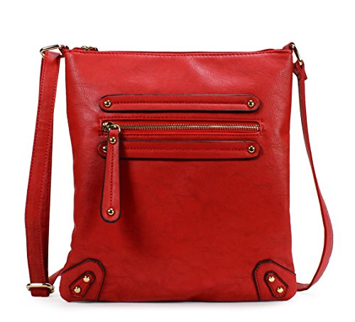 Scarleton Chic Crossbody Bag H155910 - Red