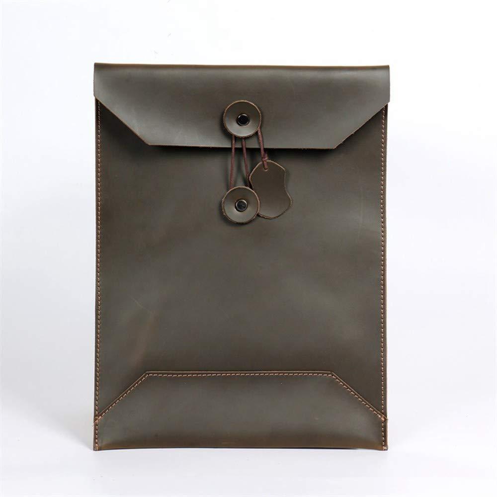 Lianai11 Laptoptasche Männer Geschäft Tote Bag Leder Computer Tasche Kombination Herren Hülle Tasche Laptop Tasche Aktentasche