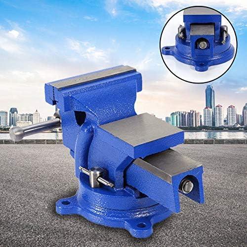 6 kg con yunque giratorio 360/° Heuer Tornillo de banco giratorio