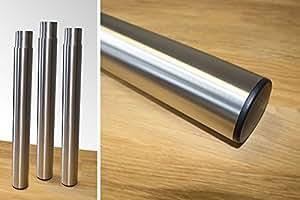 hoguera de acero inoxidable Pies FSE cesta–Extensión de acero inoxidable Patas Patas extra alto
