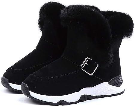 Kids Baby Infant Boys Girls Child Fur Flock Winter Bootie Warm Snow Shoes Boots